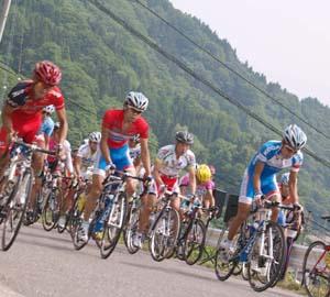 自転車の 実業団 自転車 クラス : 第24回 初夏の北アルプスヒル ...